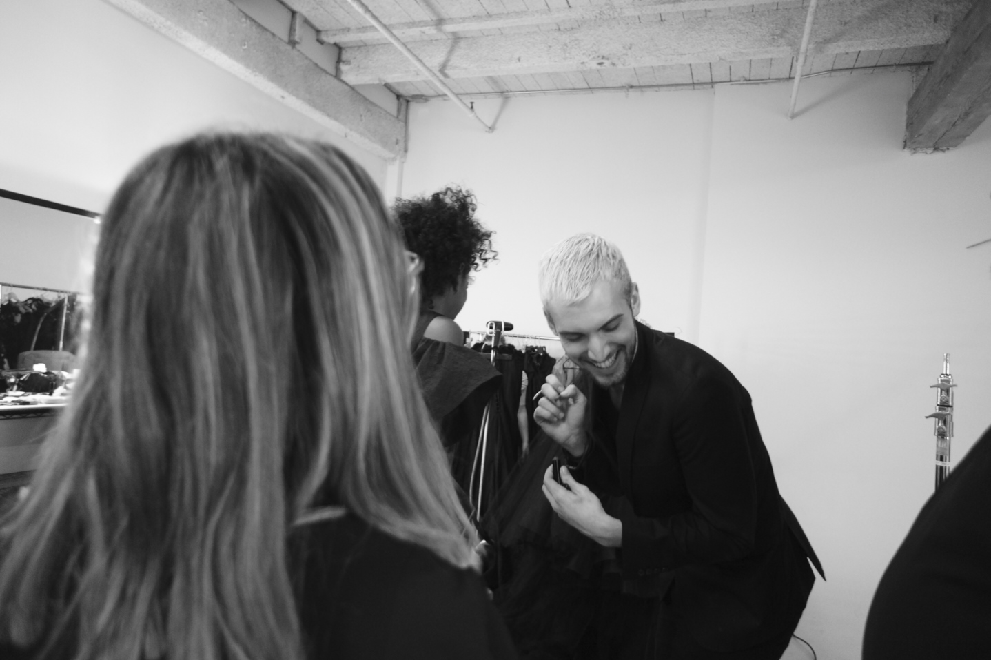 Behind the scenes with New York Fashion Photographer