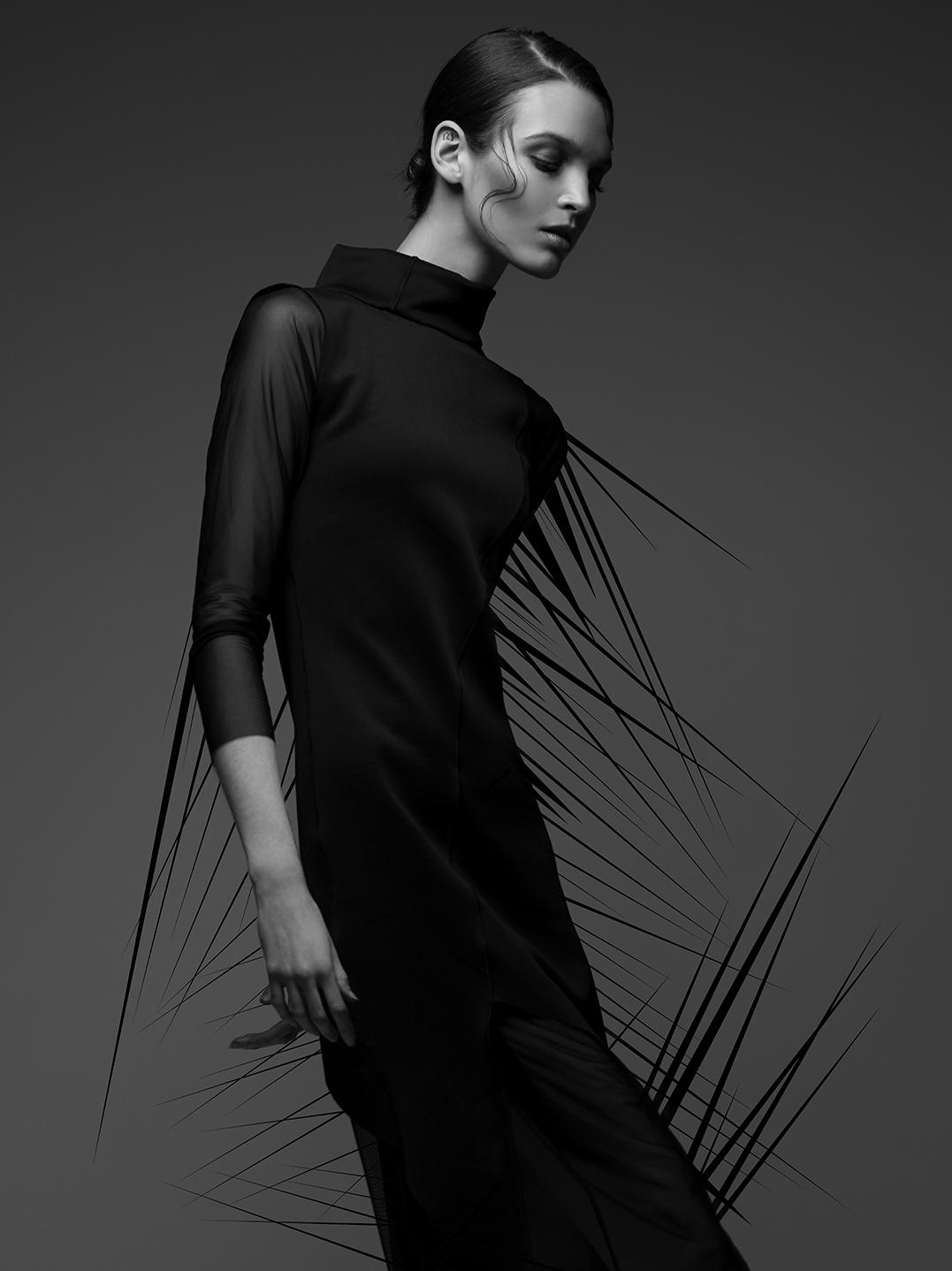 Black Model Fashion Editorial