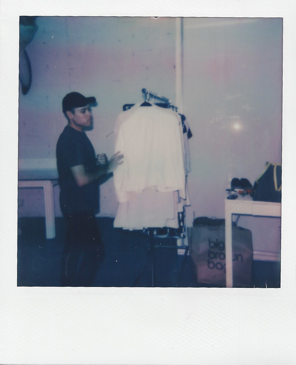 NYC_Fashion_Photographer_Polaroid_Behind_The_Scenes_Photoshoot_Impossible_Film_Camera_Models_Stylist_Michael_Rosenberg_Little_river_Studios_Miami