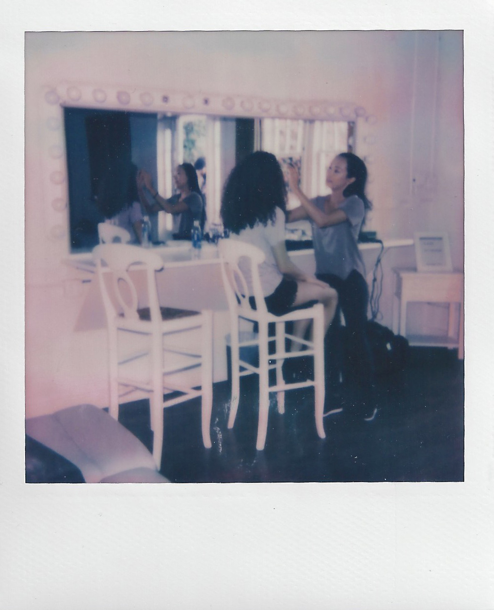 NYC_Fashion_Photographer_Polaroid_Behind_The_Scenes_Photoshoot_Impossible_Film_Camera_Women_Models_Ford_Agency Gerard_Jude_Andam_Little_River_Studios