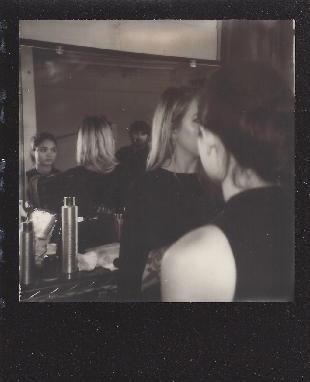 NYC_Fashion_Photographer_Polaroid_Behind_The_Scenes_Photoshoot_Impossible_Film_Camera_Women_Models_Regan_Kemper_MUA
